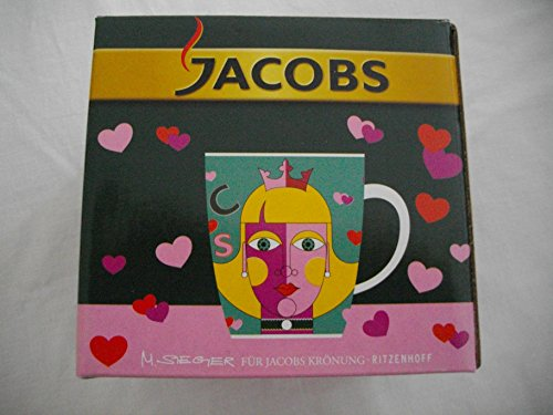 Ritzenhoff Kaffeebecher für Jacobs Krönung 3. Edition Motiv Prinzessin