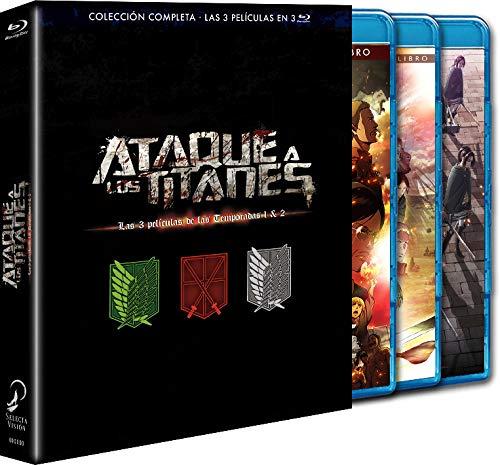 Pack 3 Películas. 'El Arco Y La Flecha Escarlatas', 'Las Alas De La Libertad', 'El Rugido Del Despertar'.Blu-Ray [Blu-ray]