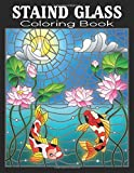 Stained Glass Coloring Book: Stained Glass Coloring Book (Dover Stained Glass Coloring Book) , Little Birds Stained Glass Coloring Book, Starbursts ... Designs, Hearts Stained Glass Coloring Book