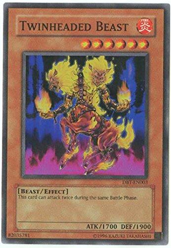 Yu-Gi-Oh! - Twinheaded Beast (DBT-EN003) - Destiny Board Traveler GBA Promo - Promo Edition - Super Rare by Yu-Gi-Oh!