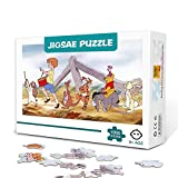 KKASD Winnie the Pooh animated poster Jigsaw Puzzles for Adults 1000 Piece Wooden Family Game Stress Reliever Difficult Challenge Puzzle for Kids Adults 75x50cm