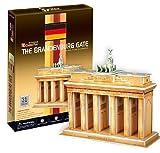 The Brandenburg Gate - World Great Architecture - 31 Pieces 3D Puzzle - Cubic Fun Series (japan import)