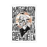 Fashion Guru Karl Lagerfeld 11 Poster, dekoratives