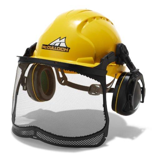 Universal Helm Semi-Pro, PRO016: Helm mit Gehör- und Sichtschutz, einhändige Justierung möglich (Artikel-Nr. 00057-76.165.16)