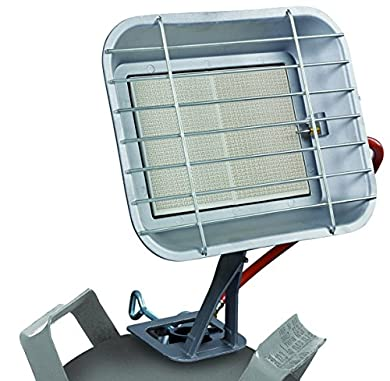 Foto di Einhell Radiatore a Gas GS 4600 P (riscaldamento di potenza fino a 4,6 kW, con accensione Piezo, con riduttore di pressione, tubo, regolatore, per bombole di Gas comuni)