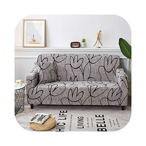 xiao S 2021 Sofa Cover Cotton Floral Printing Sofa Towel Slipcover Sofa Covers for Living Room Couch Cover funda Sofa Protect Furniture-Color 12-4-seater 235-300cm