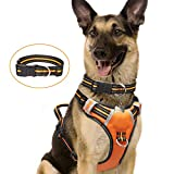 WINSEE Dog Harness No Pull, Pet Harnesses with Dog Collar, Adjustable...
