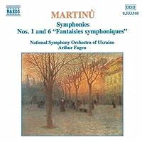 Martinu: Symphonies Nos. 1 and 6 (2013-05-03)