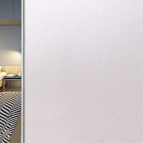 MaoDaAiMaoYi raamfolie van glas, elektrostatisch, 3D met unieke beglazing, elektrostatisch, PVC, zonder lijm, UV-bescherming, bescherming tegen zon, badkamer, kantoor, decoratie 30X100Cm B