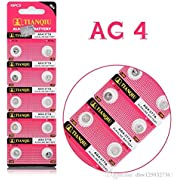 Tianqiu AG4 10Pc Alkaline Button Cell Watch Batteries