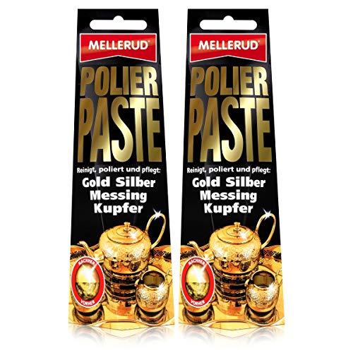 2 x Mellerud pasta pulidora para oro