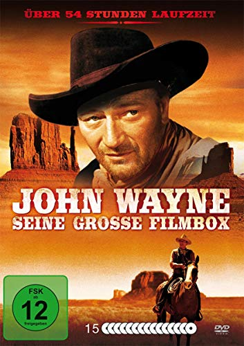John Wayne-Seine Grosse Filmbox [15 DVDs]