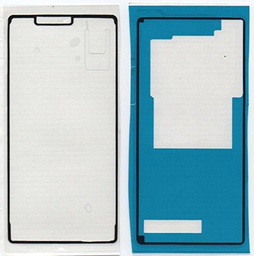 Für Sony Xperia Z3 D6603 Kleber, Klebefolie Adhesive für Display und Rückseite - imponic®