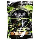 Target Bolas de Airsoft biodegradables Brown de 0.25 Gramos (4000 gránulos), Paquete de 1 kilogramo