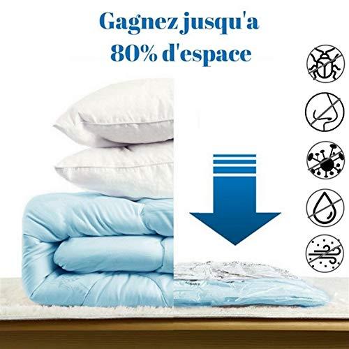 LIYGG 10pcs Vacuum Bags for Clothes Travel Pump Space Saver Toy Storage Compressed Garment Bag Best Vacuum Sealer
