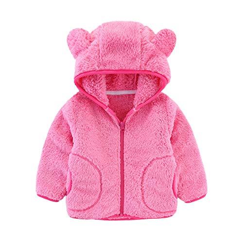 Uamaze 1-6T Kids Winter Fleece J...