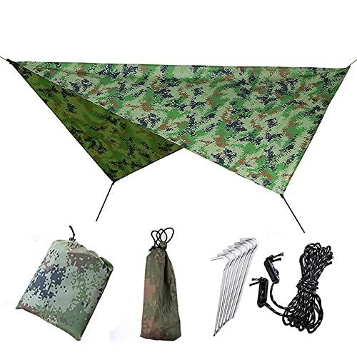 HSBZLH Tienda de campaña portátil, Refugio de la Tapa de la Tienda de Camping, Carpa de toldos a Prueba de Agua del Coche del Lado del Coche Adecuado para la Pesca de Picnic de Camping al Aire Libre