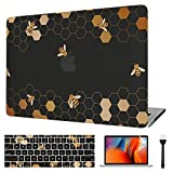 VAESIDA Case Compatible with MacBook Air 11 Inch 2012-2015 Model (A1465/A1370), Slim Hard Case & Keyboard Pad & Screen Protector ONLY for Mac Air 11 Inch, Honeycomb