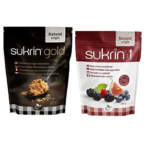 Sukrin 1 250 g und Sukrin Gold 250 g Sampler-Set