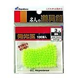 ハヤブサ(Hayabusa) 発光玉 ハード100入 着色 P420-3