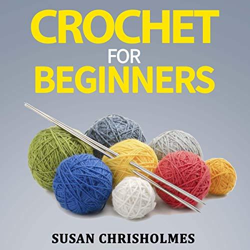 Crochet for Beginners audiobook cover art