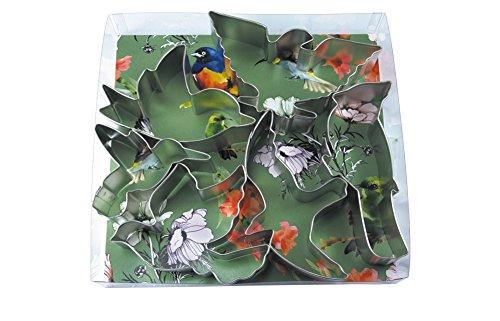 R&M International 2003 Birds Cookie Cutters, Bird, American Eagle, Cardinal, Hummingbird, Seagull, Dove, 6-Piece Set