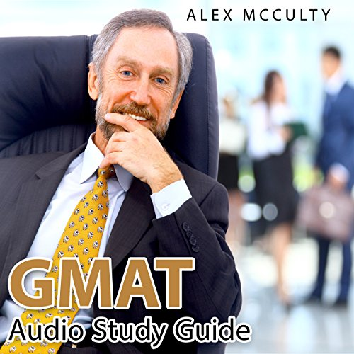 GMAT Audio Study Guide audiobook cover art
