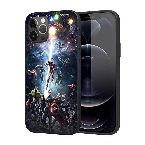 iPhone 12 Case iPhone 12 Pro Case,Basic Case Plastic Cover Case (Avengers)