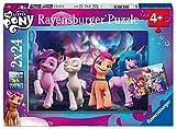 Ravensburger Puzzle, My Little Pony, 2 Puzzle de 24 Piezas, Puzzles para Niños, Edad Recomendada 4+, Rompecabeza de Calidad