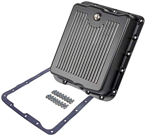 JEGS 61183 Aluminum Transmission Pan for GM TH700-R4 and 4L60