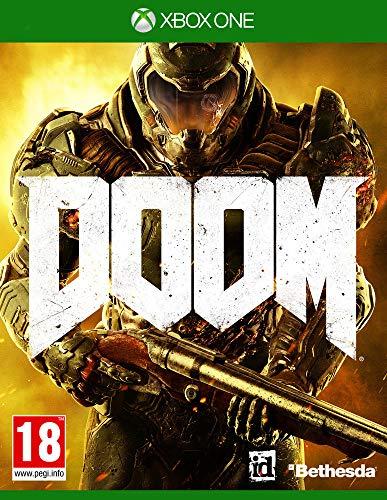 Bethesda DOOM, Xbox One vídeo - Juego (Xbox One, Xbox One, FPS (Disparos en primera persona), Modo multijugador, M (Maduro))