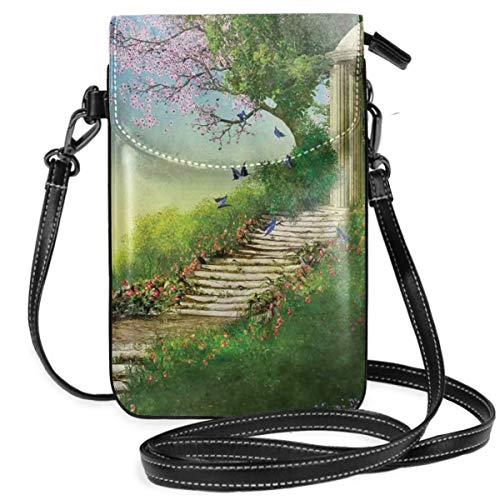 Jiger Women Small Cell Phone Purse Crossbody,Gazebo At The Top Of A...