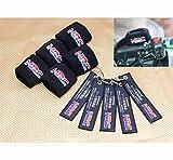 Moto HRC freno serbatoio dell'olio calzino fluido Serbatoio tazza della copertura polsino manica for Honda CBR1000RR 900RR 600RR 500R 250R accessori e componenti