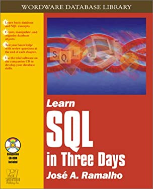 Learn SQL in Three Days (Wordware Database Library)