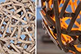 Massive Hängeleuchte PURE NATURE I 40cm Treibholz Handarbeit Pendelleuchte Esszimmerbeleuchtung Hängelampe - 8