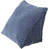 Guang Zhou Feng Triangle Wedge Pillow, Reading Backrest Cushion Bed Backrest Back Triangle Pillow Back