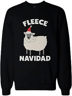 365 Printing Fleece Navidad Funny Christmas Black Sweatshirt