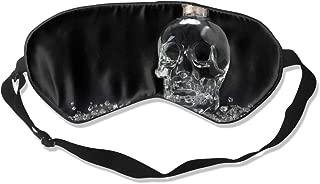 Oh-HiH 100% Silk Eye Mask Adolf Hitler Artwork Sleeping Blindfold Blocks Light Eye Cover