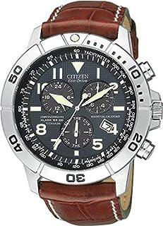 Citizen Perpetual Calendar Chrono for Men - Analog Leather Band Watch - BL5250-02L