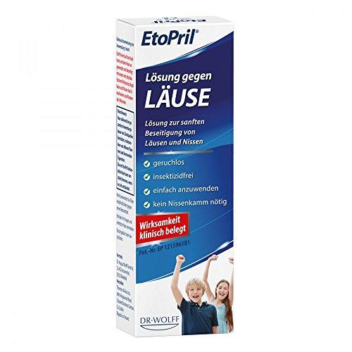 EtoPril Lösung gegen Läuse, 100 ml Lösung