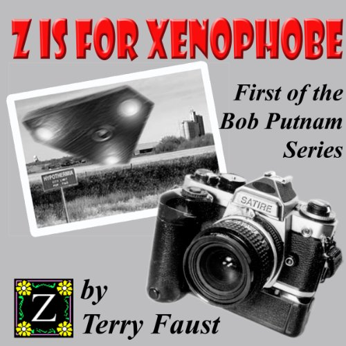 Z is for Xenophobe audiobook cover art