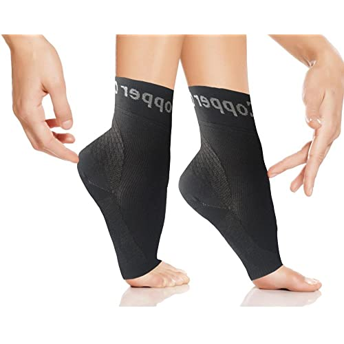 b3b7a848c Copper Compression Gear Plantar Fasciitis Foot Sleeves Support Socks -  Reduce Swelling