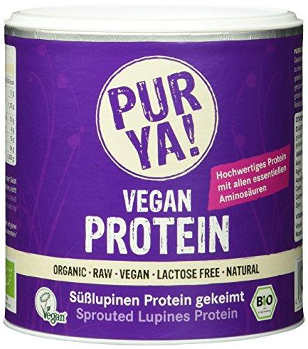 Purya Bio Vegan Protein - Lupinen gekeimt, 1er Pack (1 x 200 g)