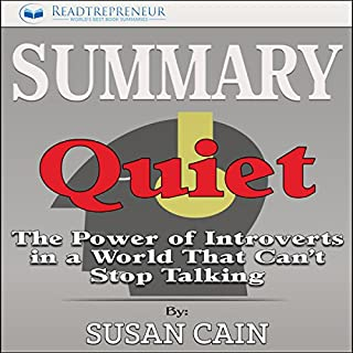 Summary: Quiet: The Power of Introverts in a World That Can't Stop Talking cover art