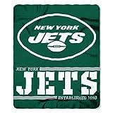 Northwest NFL New York Jets 50x60 Fleece Split Wide DesignBlanket, Team Colors, One Size (1NFL031040015RET)