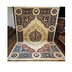 Masonic Symbol Carpet on Amazon.com