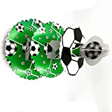 Balloonistics Football Soccor Theme 3-Tier Treat Tree Cupcake Stand Paper Cake Carrier
