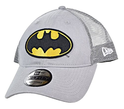 New Era DC Comics Batman Symbol Washed Trucker Snapback Gorra De Béisbol