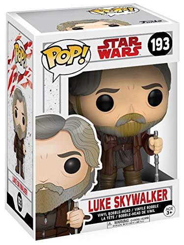 Funko Pop! Star Wars – Luke Skywalker – Figura de Vinilo, 9cm