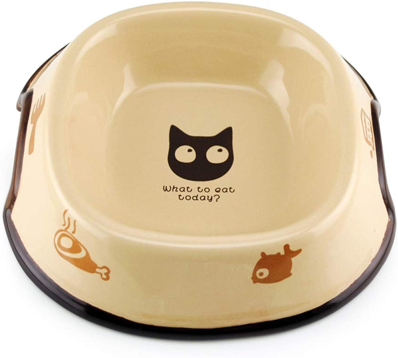 CQ Ceramic Cat Bowl Cute Cat Bowl Cat Food Bowl Rice Bowl